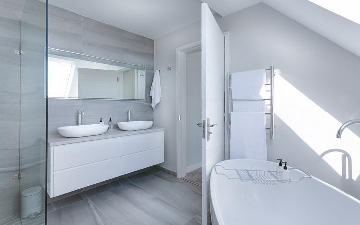 Salle de bains - JM Toitures à Aubel